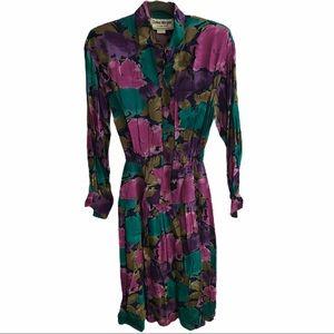 DONNA MORGAN Vintage Floral Maxi Dress